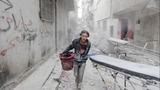 Syrian forces battle rebels near Aleppo