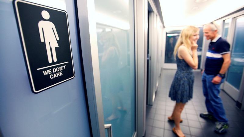 Justice Dept. and N. Carolina trade lawsuits over 'bathroom law'