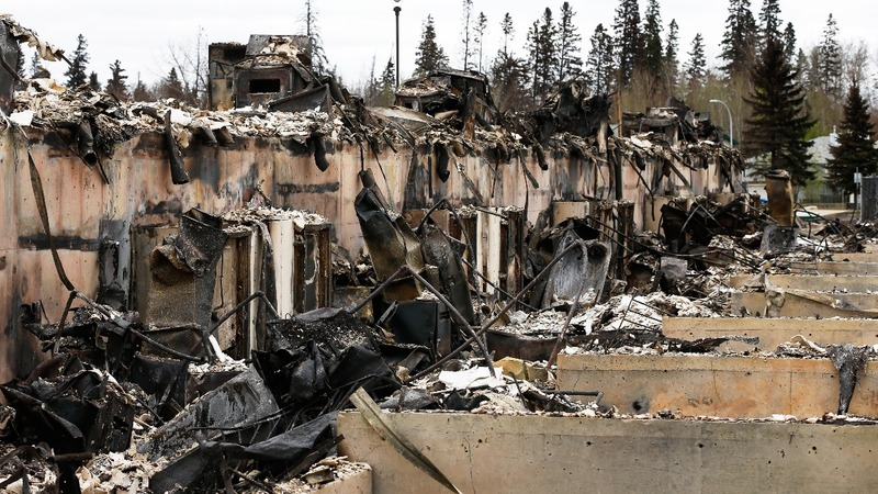 A first glimpse of the devastation at Fort McMurray