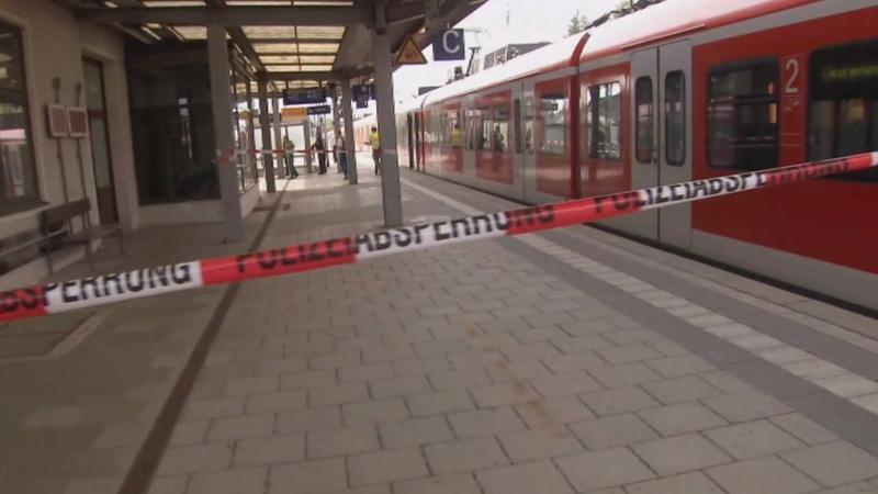 Man knifes Munich rail passengers, one dead