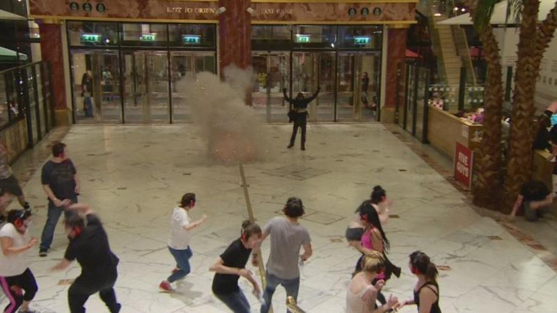 INSIGHT: UK police hold anti-terror drill