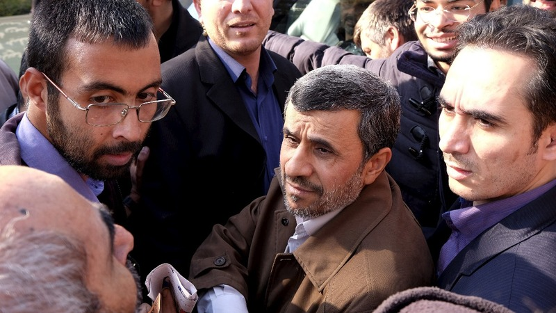 Talk of a comeback for Iran's Ahmadinejad