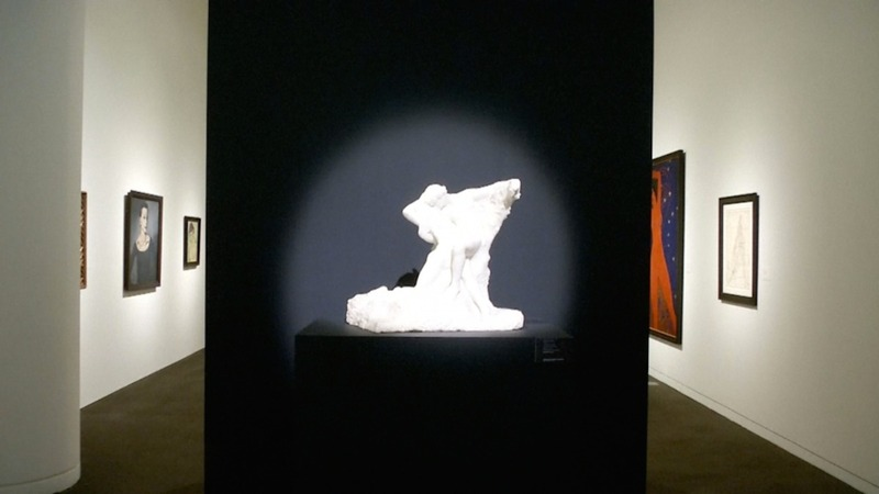 A record Rodin sale amid art auction worries