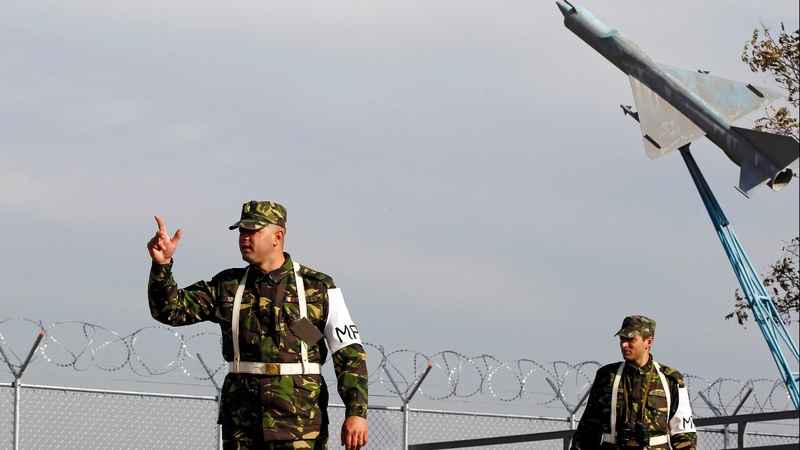 Romanian town on frontline for NATO shield