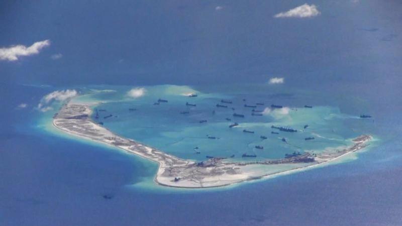 China scrambles jets after U.S. ship gets close