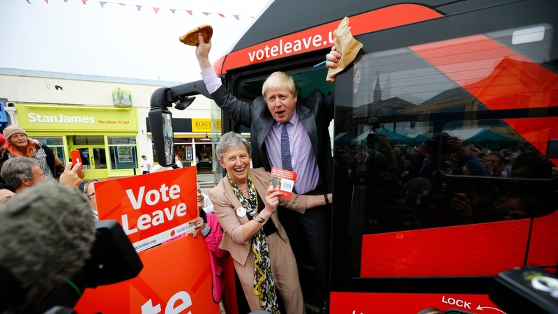 INSIGHT: Boris' Brexit Bus hits the road