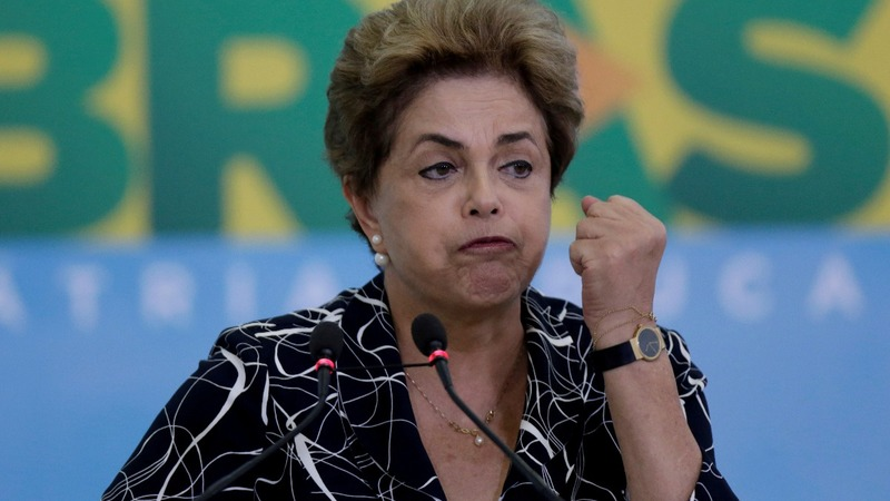Critical vote puts Rousseff's fate in Senate's hands