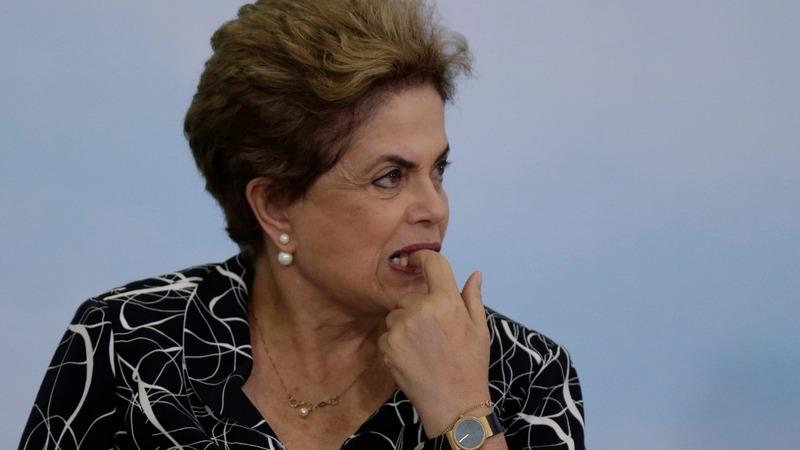 Brazil's Senate sends Rousseff to trial