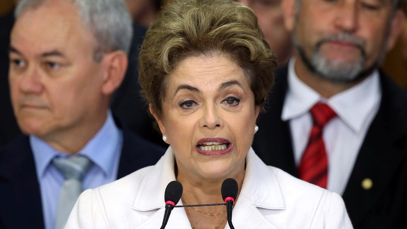 Brazil's Rousseff fights impeachment