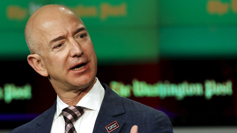 Trump takes on Bezos over Post's 'fake publicist' story