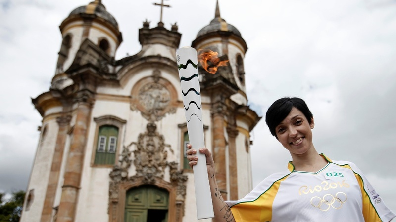 INSIGHT: Olympic torch arrives in historic city