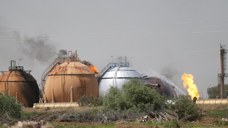 Islamic State strikes Iraqi gas plant