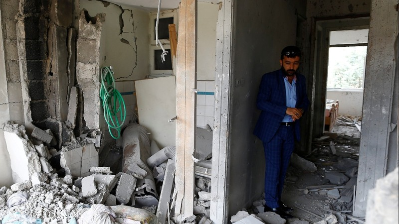 Turkish town becoming frontline in Syrian war