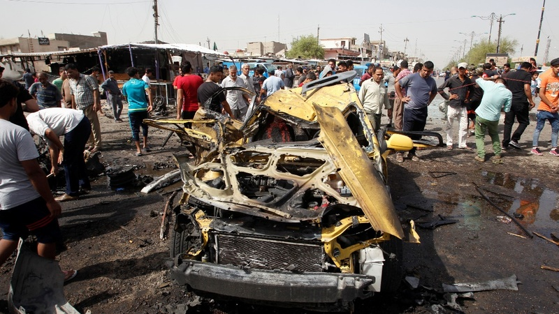 Three bombings in Baghdad kill 63
