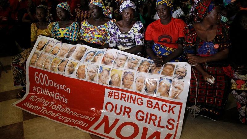 Nigerian schoolgirl rescued from Boko Haram