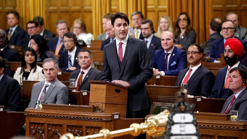 INSIGHT: Canada PM Trudeau gets physical
