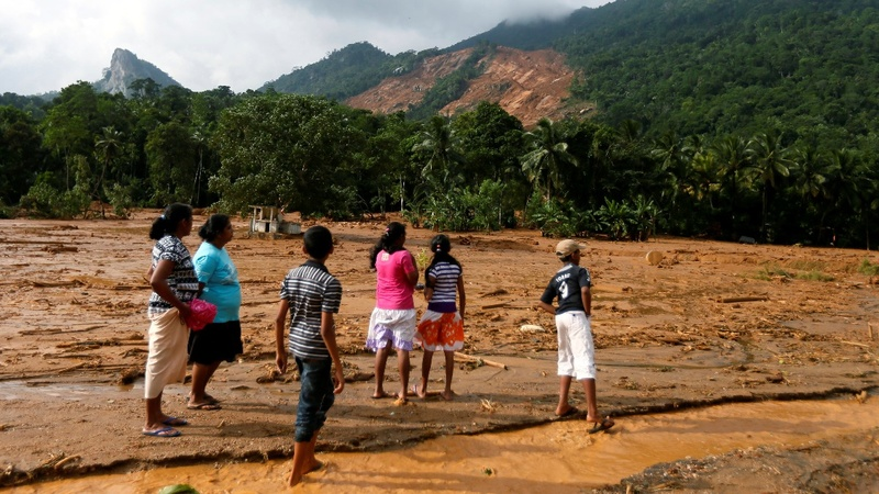 Deadly landslides strike Sri Lanka