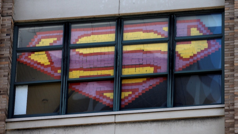 Post-it note art war raging at New York ad agencies
