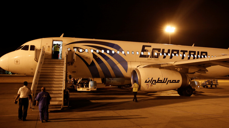 No sign of explosion on EgyptAir MS804