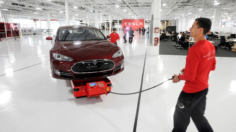 Tesla suppliers scramble to keep up