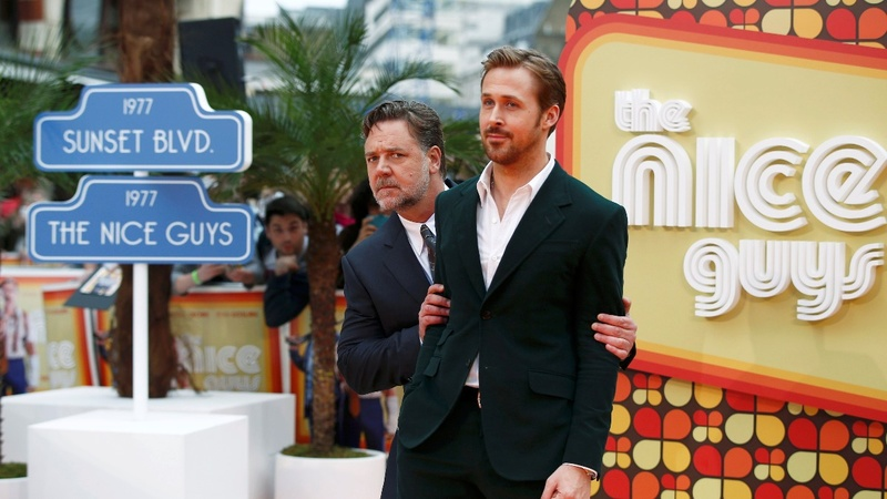 VERBATIM: 'Nice Guys' cast at London premiere