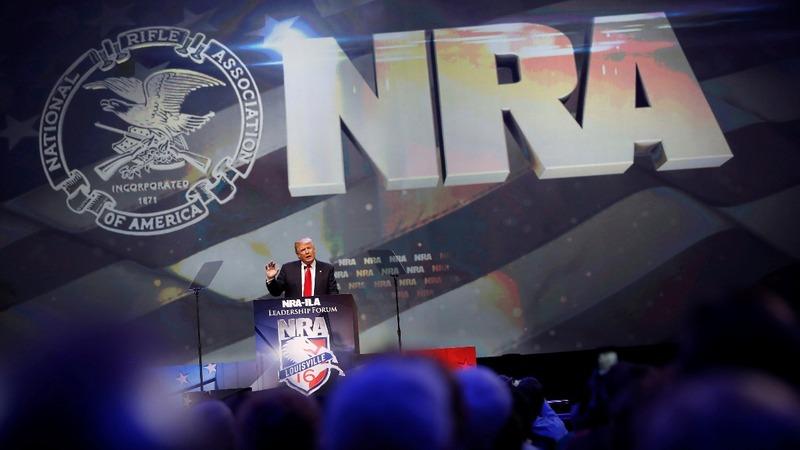 VERBATIM: Trump accepts NRA endorsement