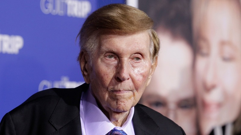Sumner Redstone springs to life with surprise decision