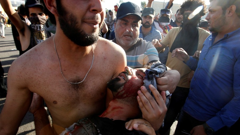 Four killed in Baghdad's Green Zone riots