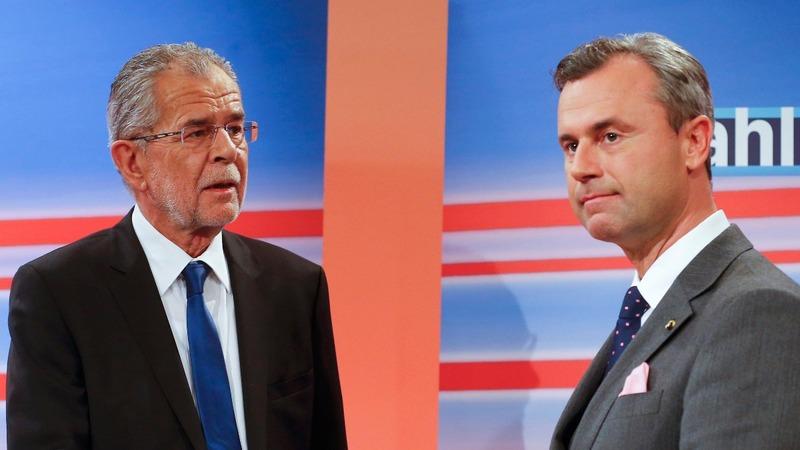 Austrian presidential run-off on knife-edge