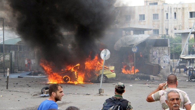 Scores killed in multiple Syria blasts