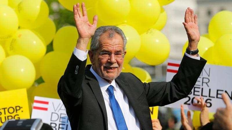 Left-Wing Van Der Bellen wins Austria elections