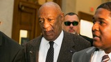 Cosby appears in court for sexual assault hearing