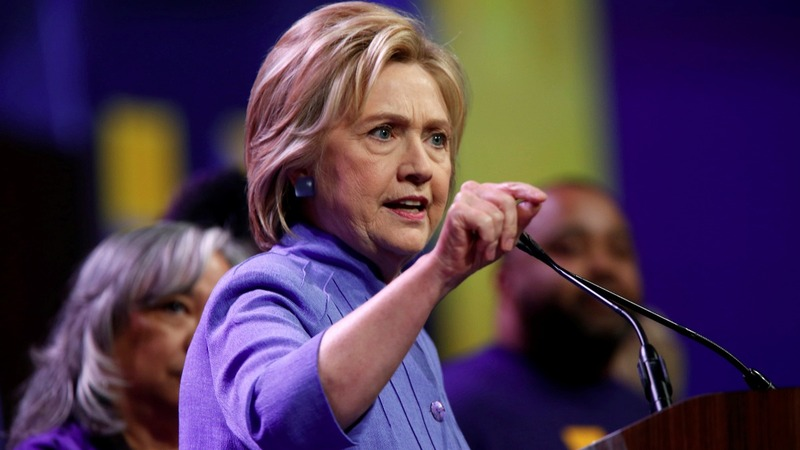 VERBATIM: Clinton says Trump could bankrupt U.S.