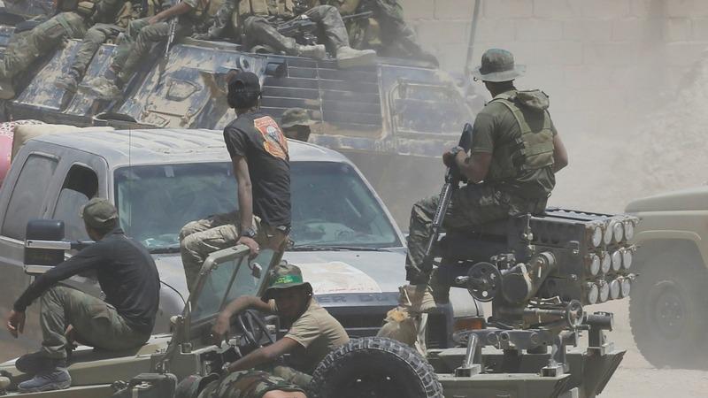 Iraqi forces clash with Islamic State in Falluja