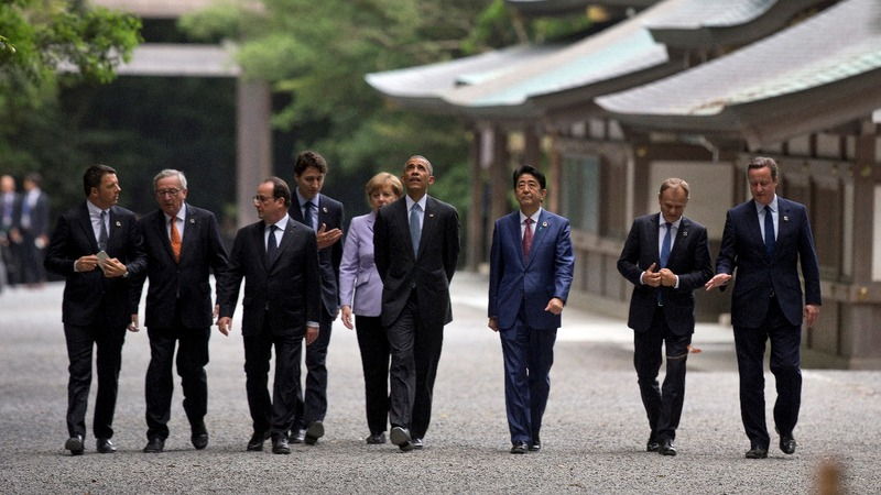 INSIGHT: World leaders in Japan for G7 summit