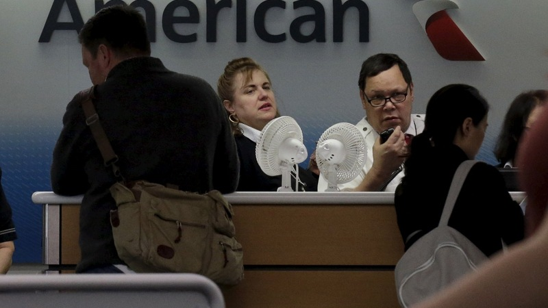 TSA screenings made 70,000 miss American Airlines flights