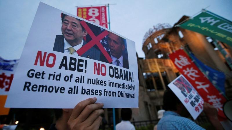 INSIGHT: Protests as Obama visits Hiroshima