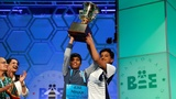 Spelling bee crowns two champs, again