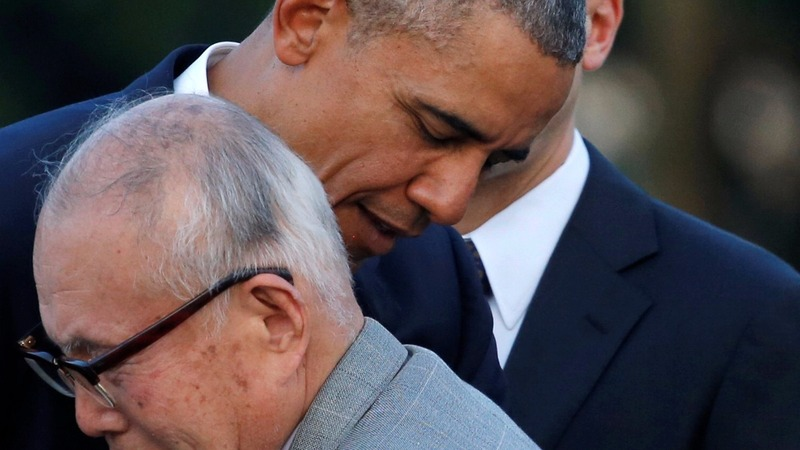 Obama makes historic visit to Hiroshima