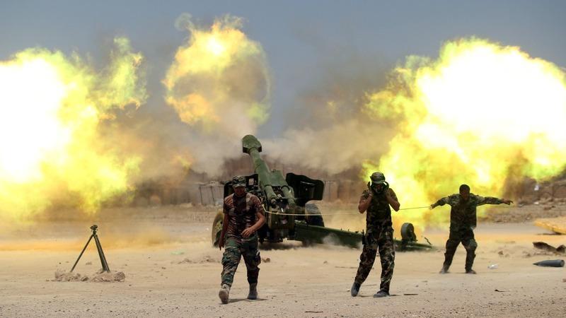 Fears for civilians trapped in Falluja
