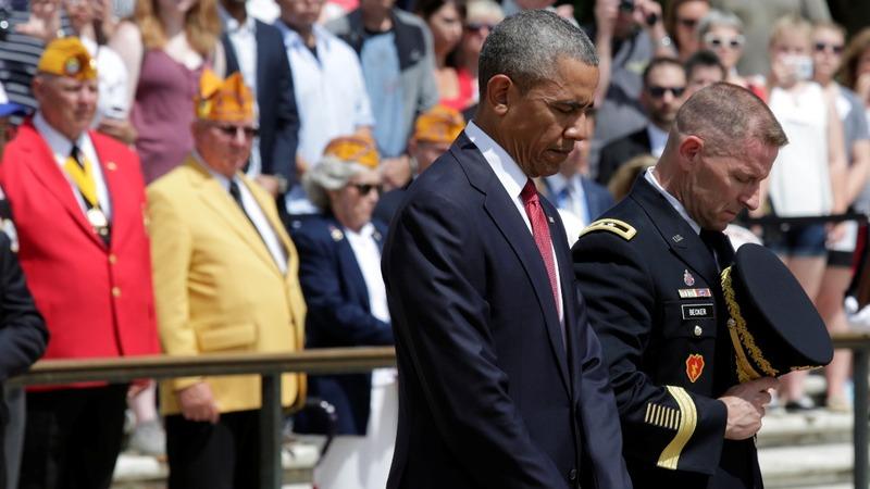 INSIGHT: Obama remembers ultimate sacrifice