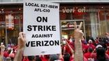 Verizon caves to striking workers' demands