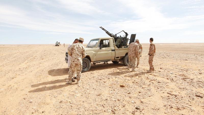 Libyan forces seek to encircle I.S.-held Sirte