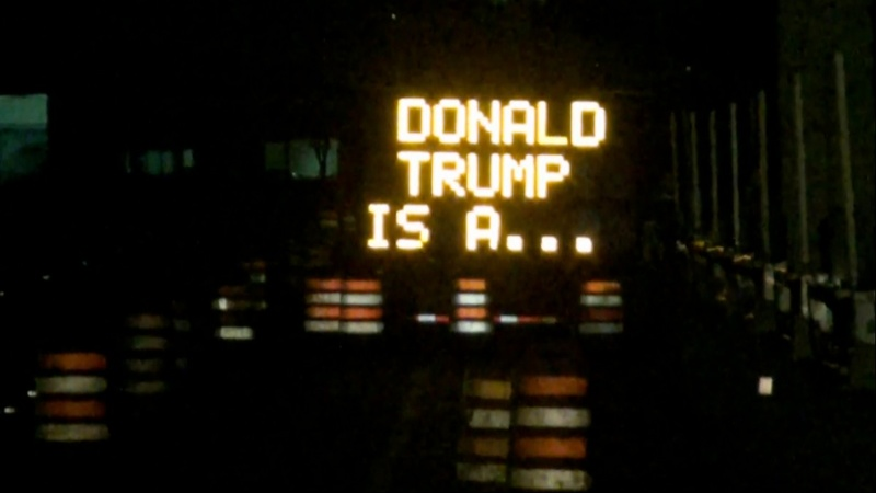 INSIGHT: Traffic sign turns against Trump