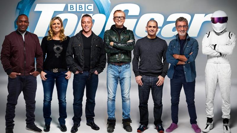 Motor show 'Top Gear' off to a bumpy start