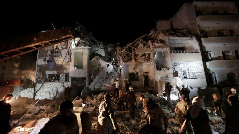 Idlib hit by deadly air strikes