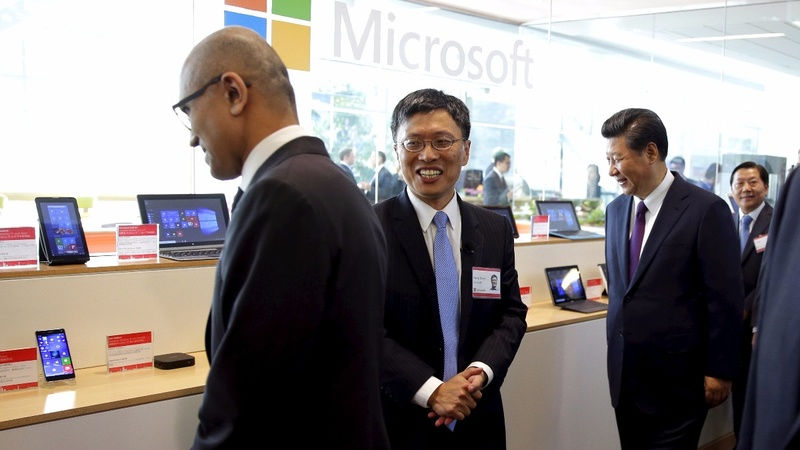 This week, Microsoft's turn to go to Beijing