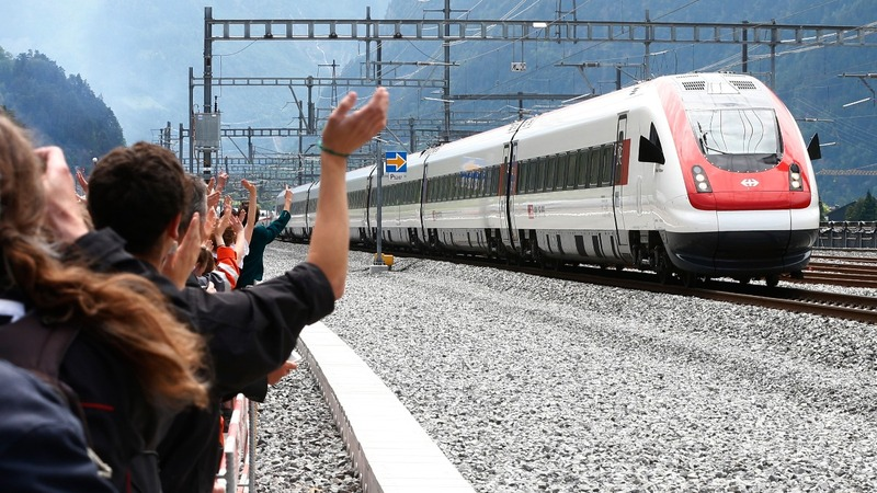 INSIGHT: Swiss 'tame' Alps with new rail tunnel