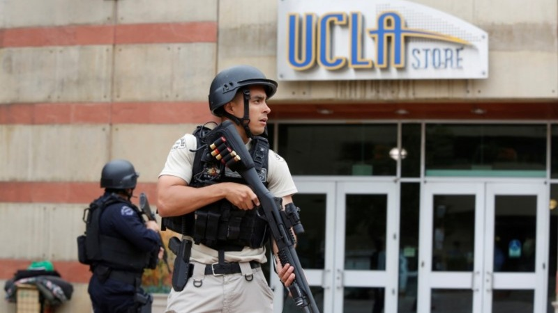 Murder-suicide on UCLA campus, lockdown lifted