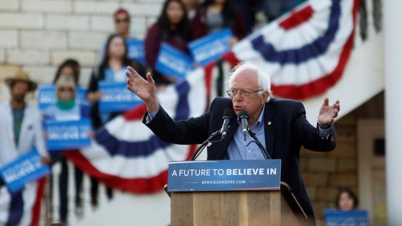 Bernie Sanders digs deep in California